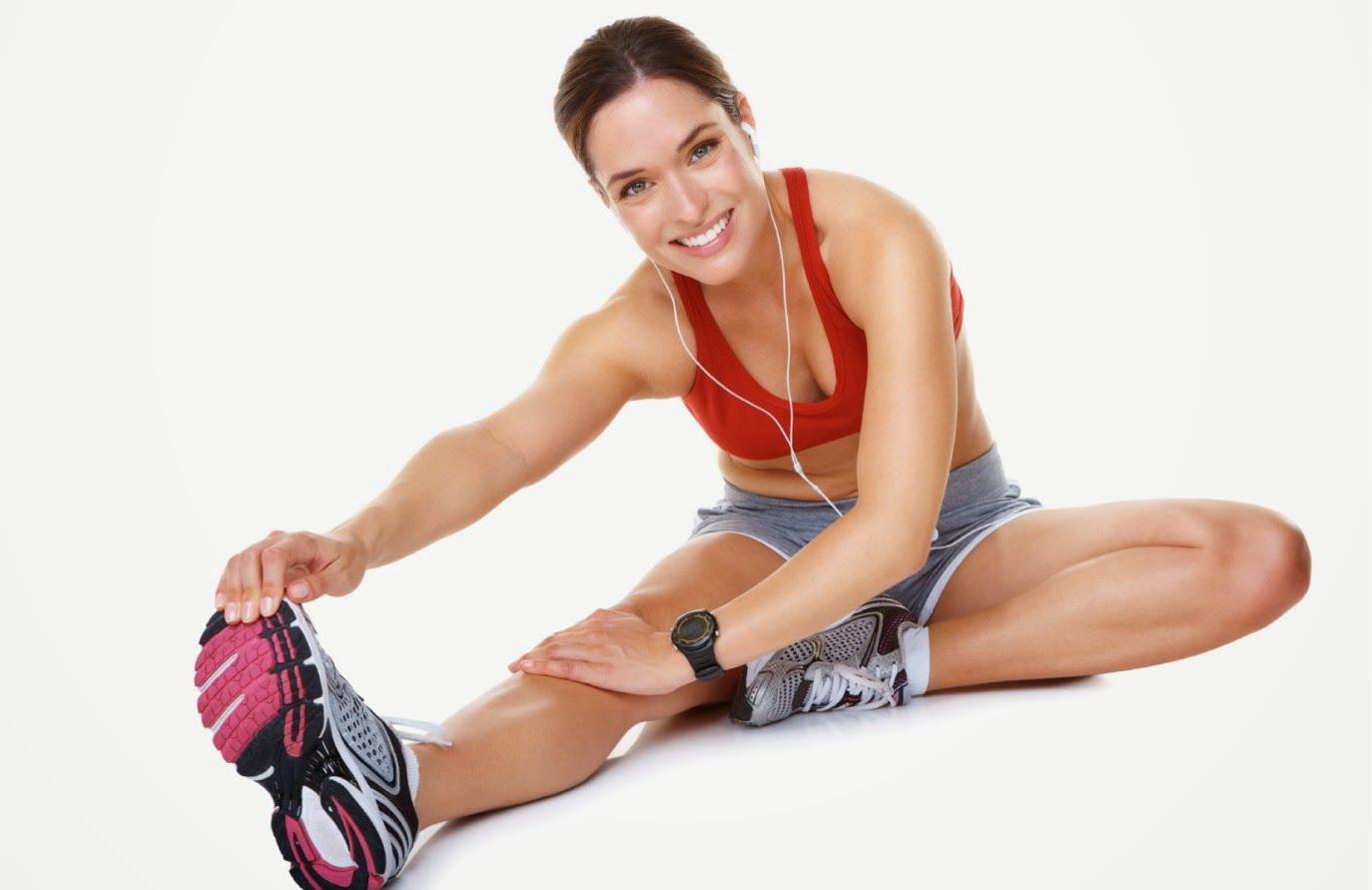 Физические упражнения для похудения живота и боков.