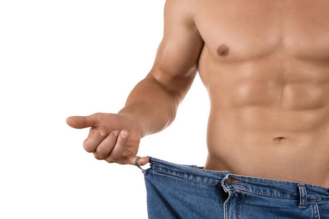 Парню похудеть быстро
